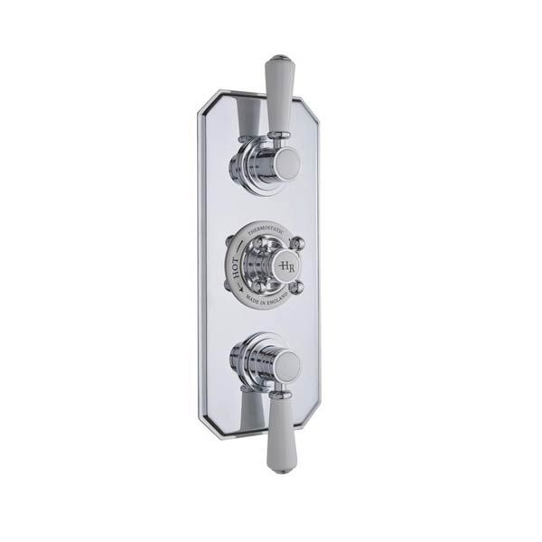 Hudson Reed Traditional Triple Thermostatic Shower Valve