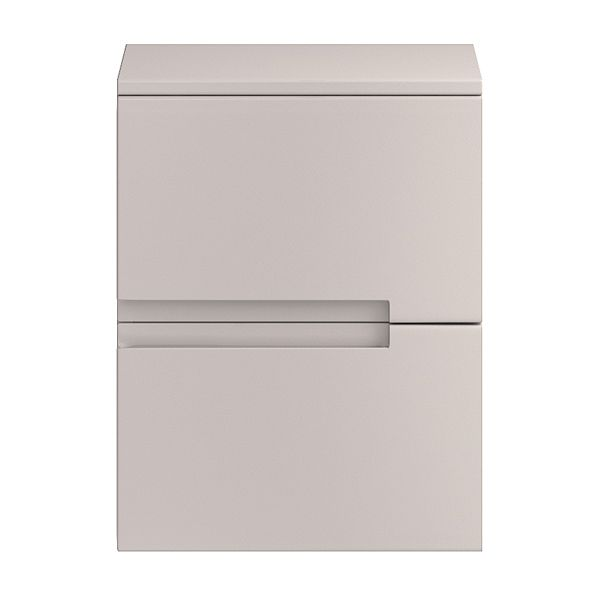 Hudson Reed Urban Gloss Cashmere Side Cabinet