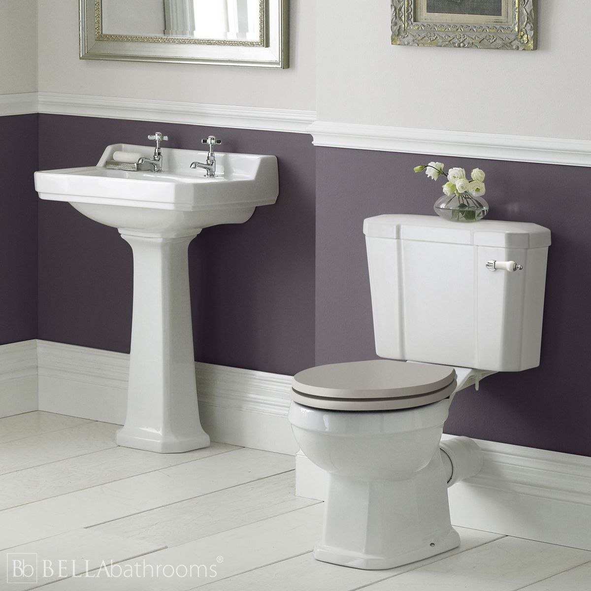 Hudson Reed Richmond Traditional Cloakroom Suite
