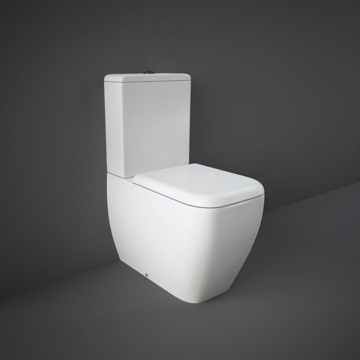 RAK Metropolitan Rimless Back To Wall Toilet with Soft Close Seat