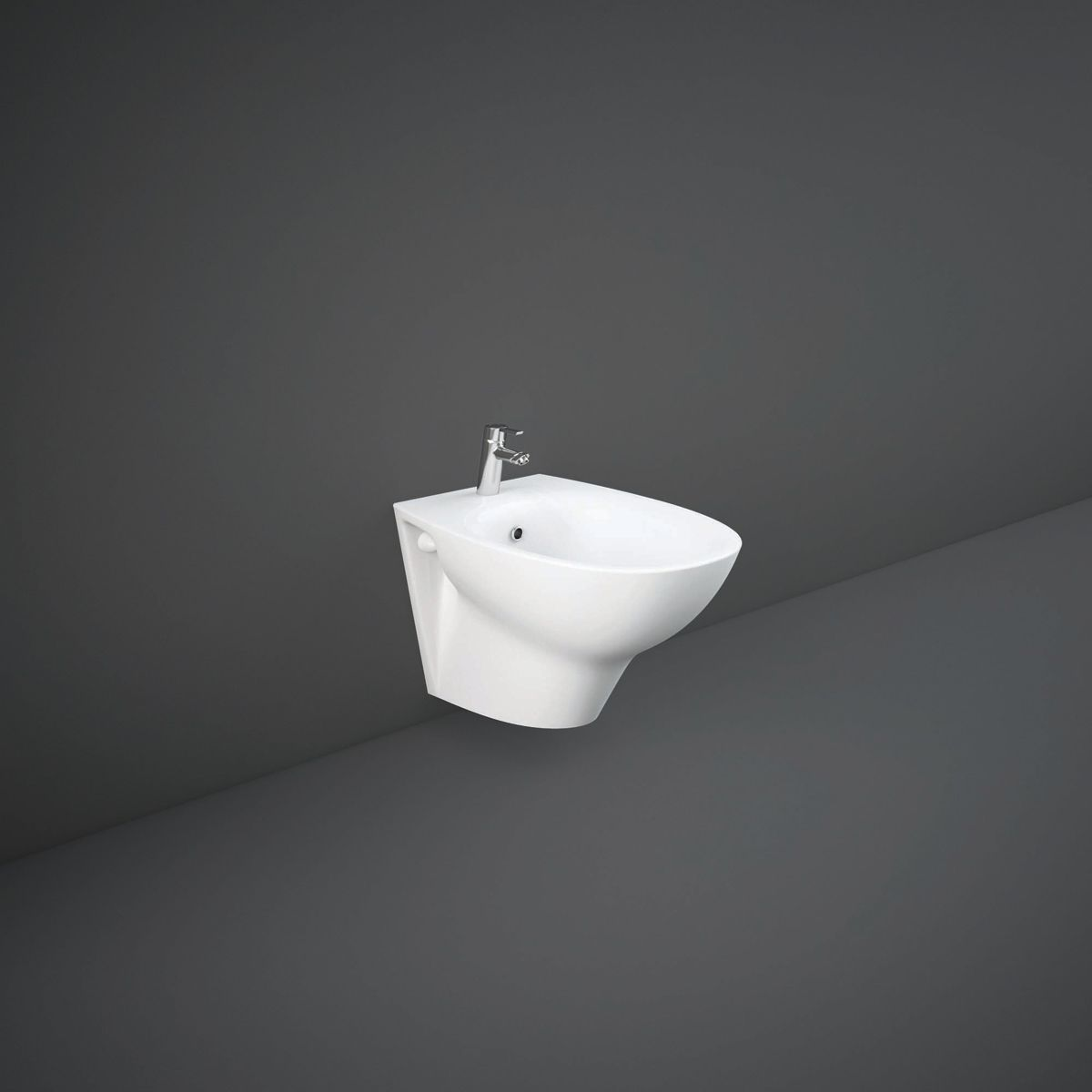 RAK Morning Wall Hung Bidet 520mm