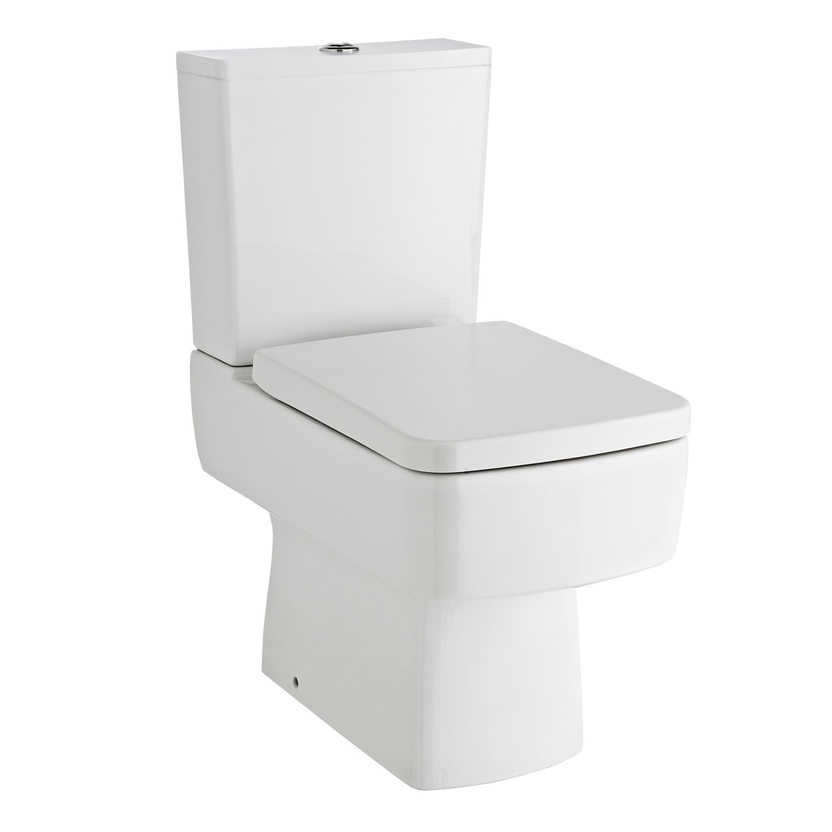 Nuie Bliss Close Coupled Toilet with Soft Close Seat