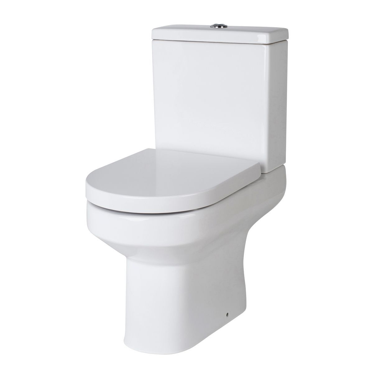 Nuie Harmony Close Coupled Toilet with Soft Close Seat