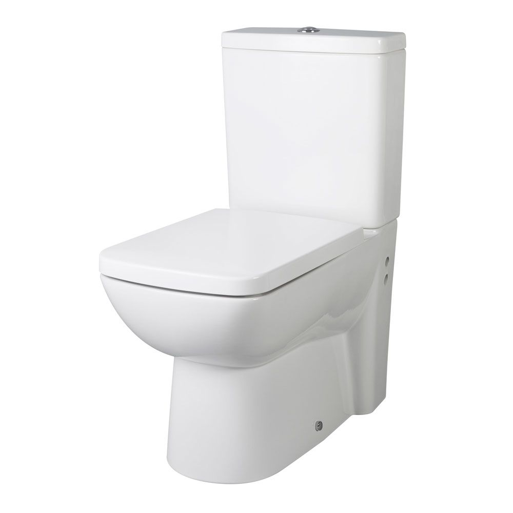 Premier Ambrose Flush To Wall Toilet with Soft Close Seat