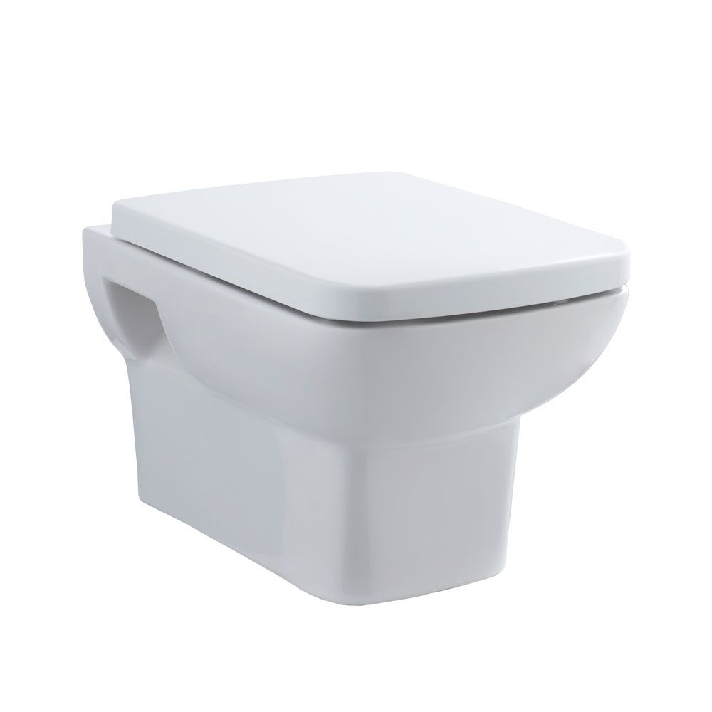 Premier Ambrose Wall Hung Toilet with Soft Close Seat