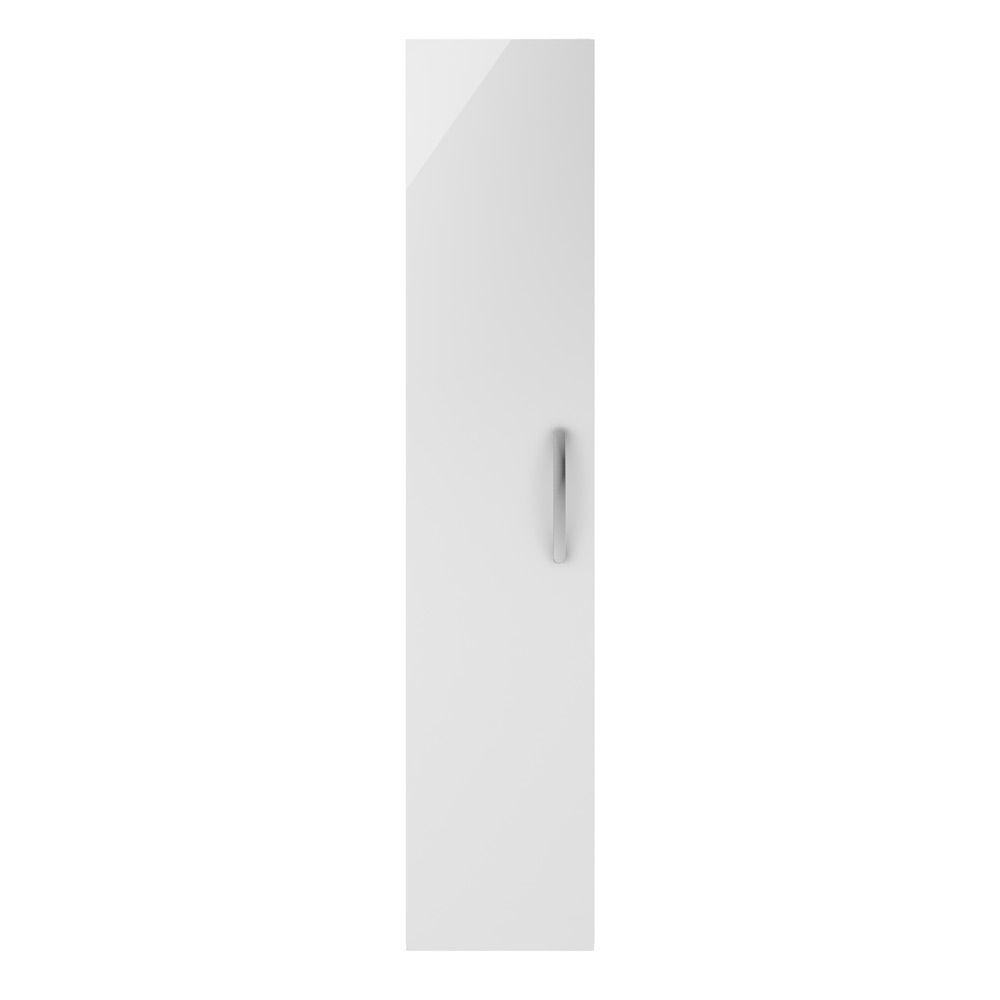 Premier Athena Gloss White Single Door Tall Unit 300mm