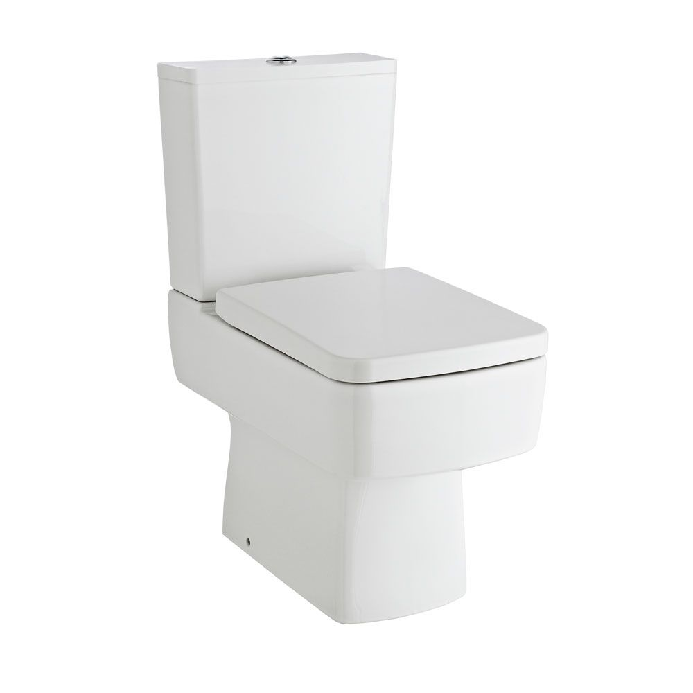 Nuie Square Soft Close Toilet Seat
