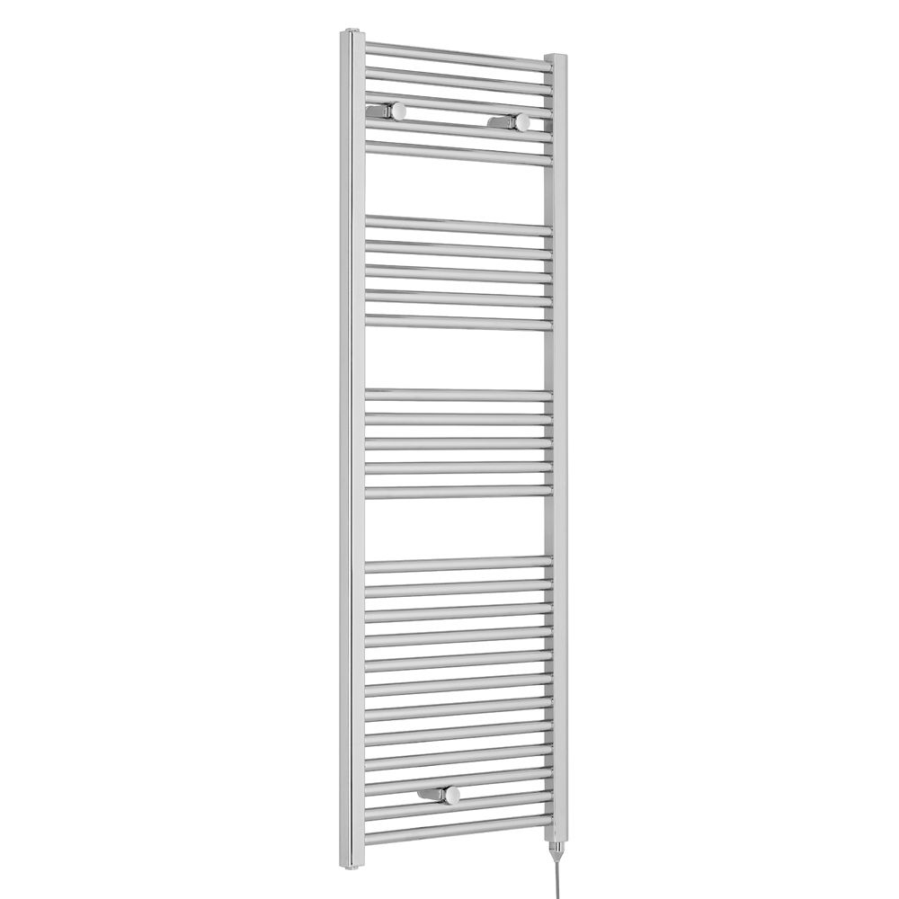 Premier Chrome Electric Heated Towel Rail 480 x 1375mm