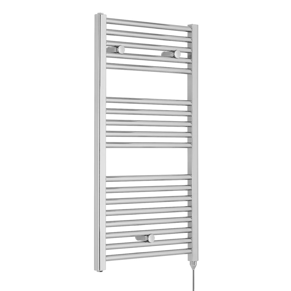 Premier Chrome Electric Heated Towel Rail 480 x 920mm