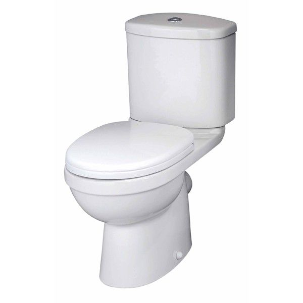 Premier Ivo Close Coupled Toilet with Standard Seat