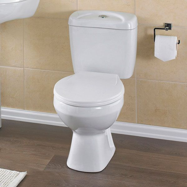 Premier Melbourne Close Coupled Toilet with Standard Seat