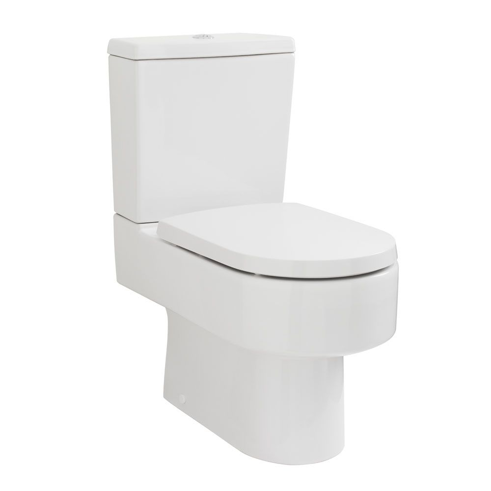 Premier Provost Semi Flush To Wall Toilet with Soft Close Seat