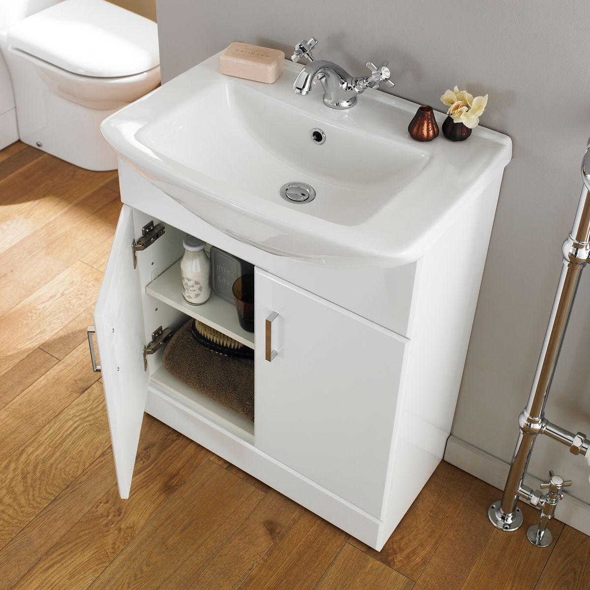 Nuie Madison Bathroom Furniture Pack Square Basin