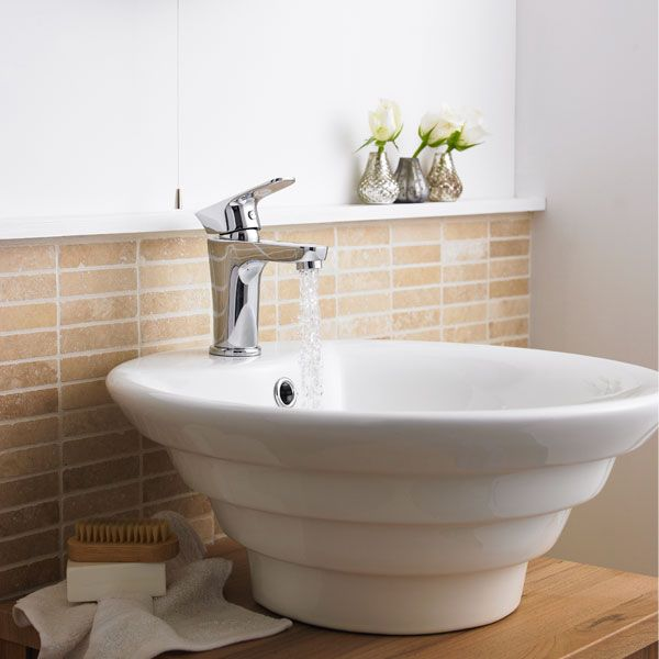 Premier Vessels Round Counter Top Basin 460mm