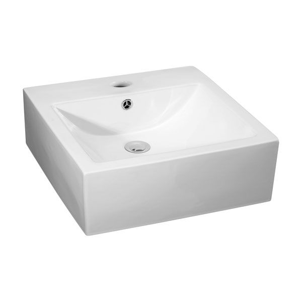 Premier Vessels Square Counter Top Basin 470mm