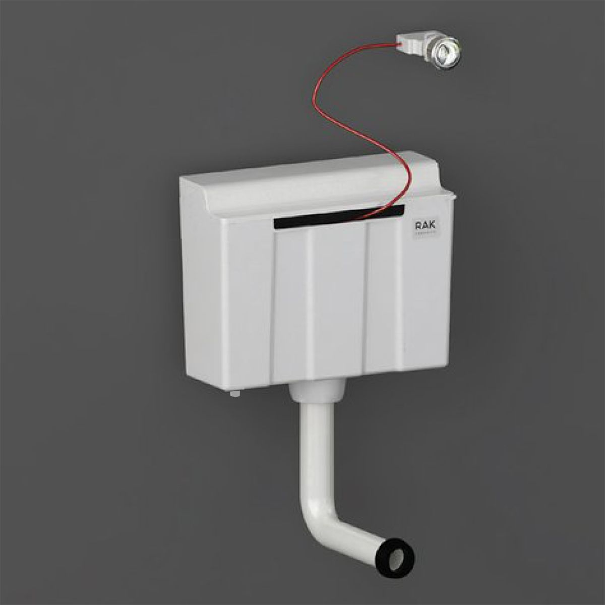 RAK Ecofix Bottom Inlet Concealed Cistern with Push Button