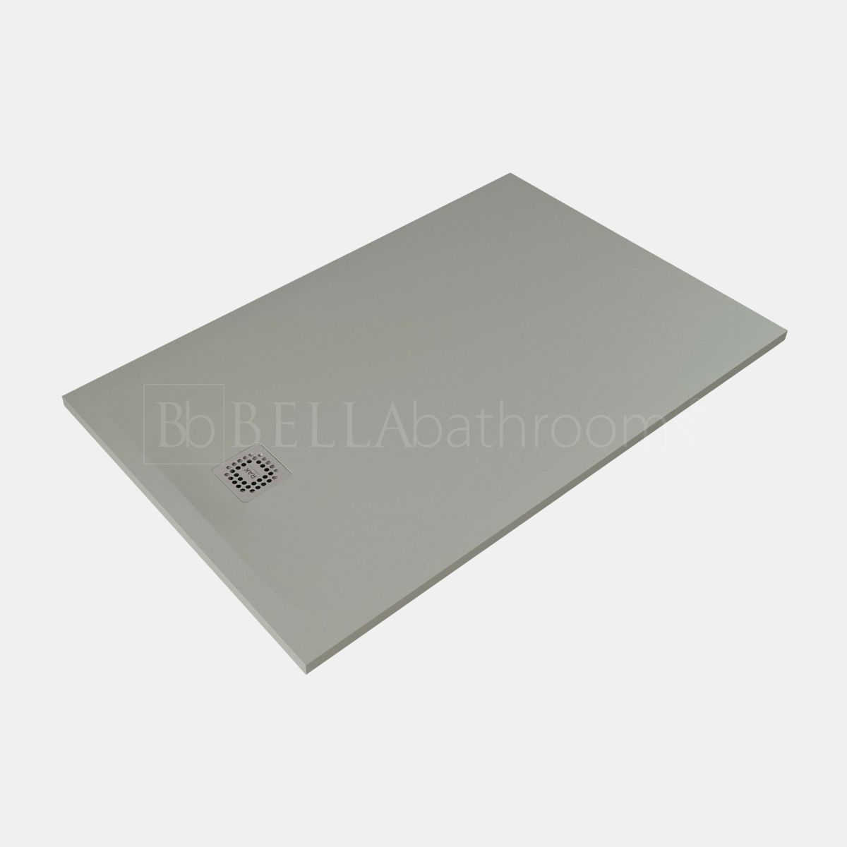 RAK Feeling Grey Rectangular Shower Tray 1400 x 800mm