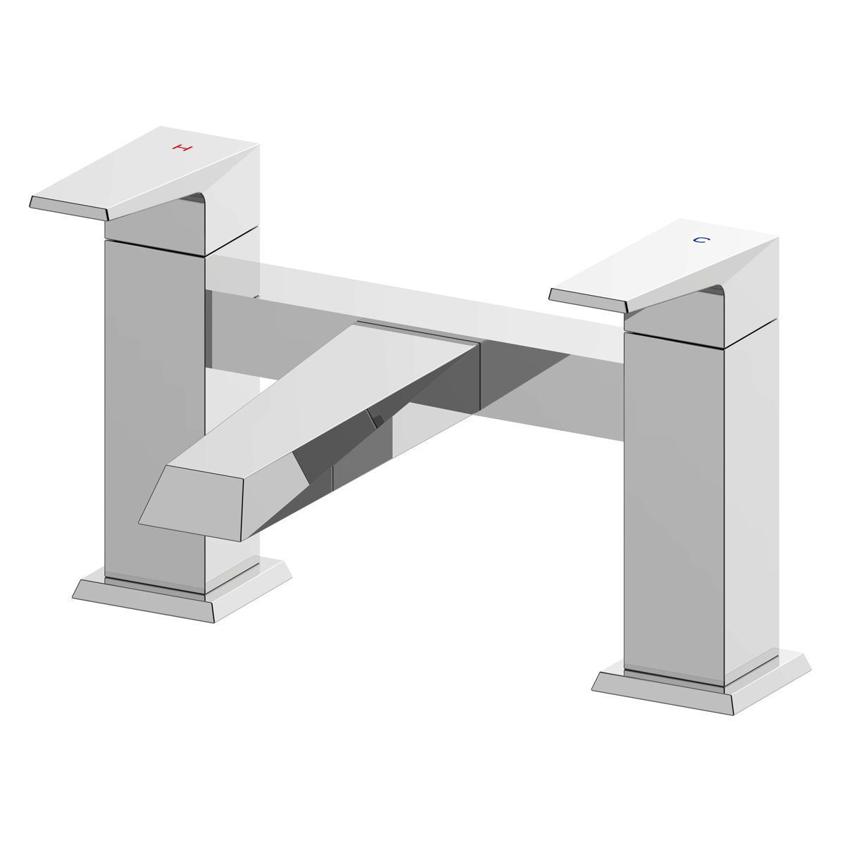 RAK Dimensions Bath Filler Tap