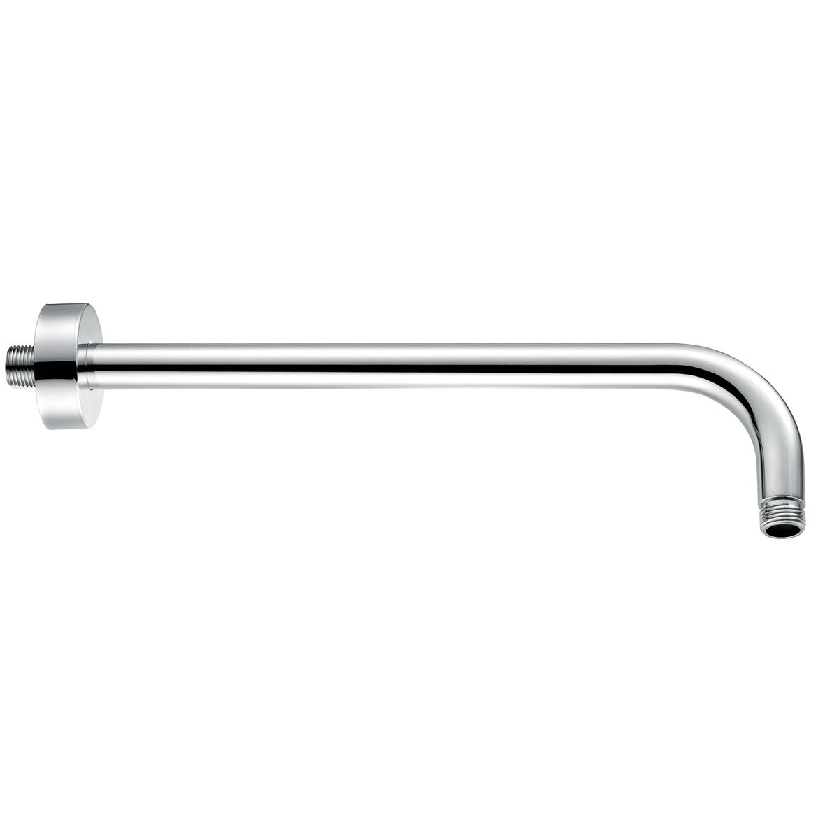 RAK Chrome Round Wall Mounted Shower Arm 300mm