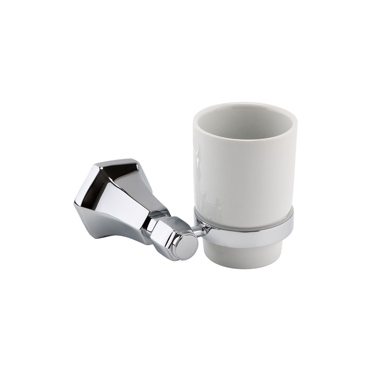 RAK Washington Polished Chrome Single Tumbler