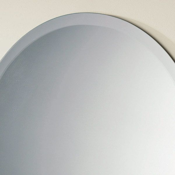 Rondo Round Bathroom Mirror Detail 1