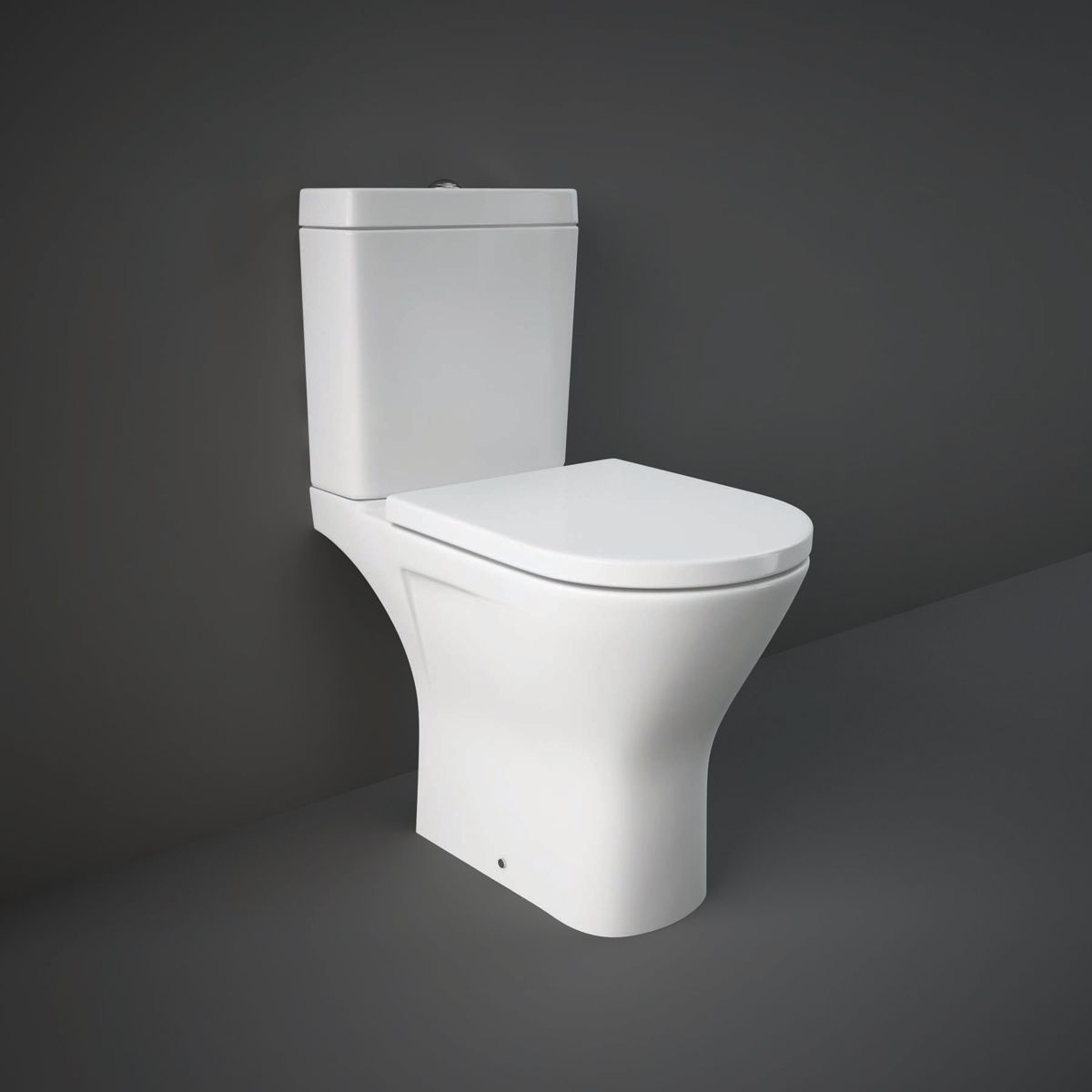 RAK Resort Maxi Open Back Close Coupled Toilet with Soft Close Seat