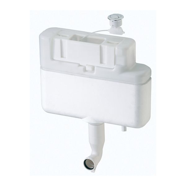Siamp Intra Bottom Inlet Dual Flush Concealed Cistern