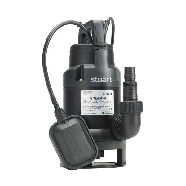 Stuart Turner 46542 Supervort 240A Submersible Pump