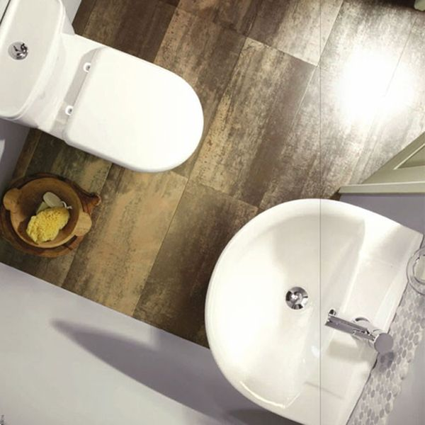 Tavistock Micra Toilet and 450mm Basin Set in Situation