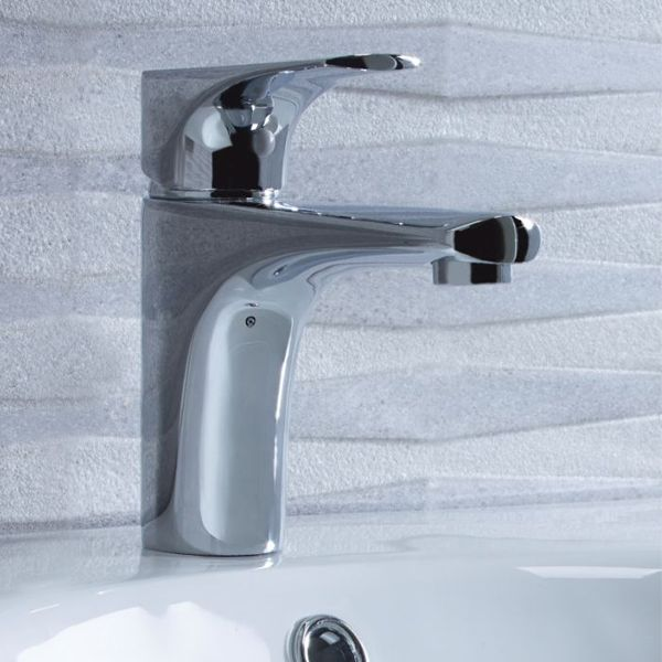 Tavistock Strike Basin Mixer with Click Waste in Situation