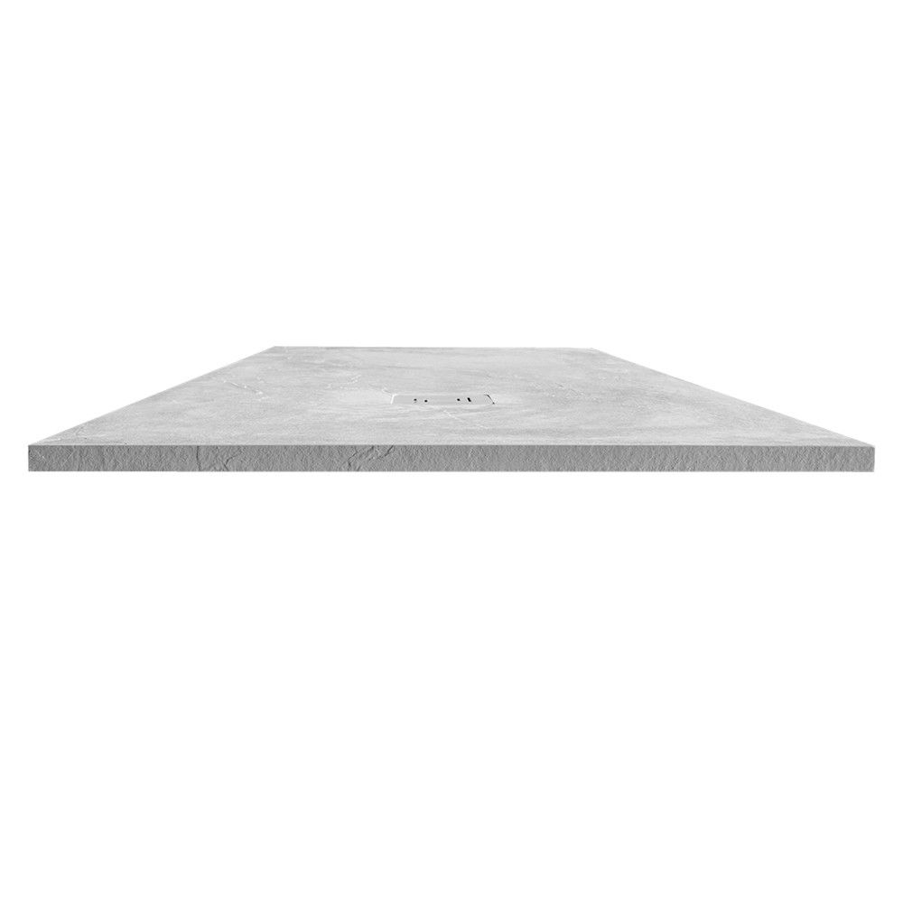 Merlyn Truestone Fossil Grey Rectangular Shower Tray 1400 x 800mm