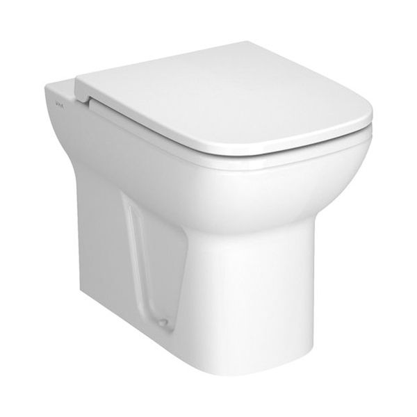 Vitra S20 Back To Wall Toilet with Soft Close Seat