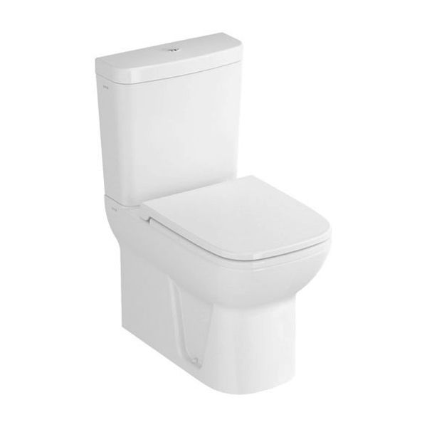 Vitra S20 Close Coupled Fully Back To Wall Toilet with Soft Close Seat