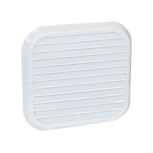 Xpelair Simply Silent White Wall Kit Square