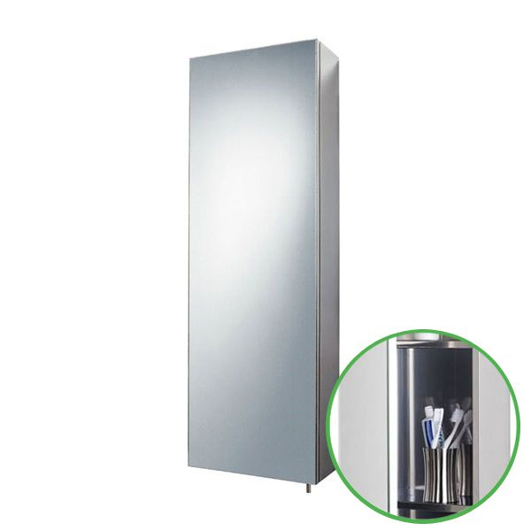 Stainless Steel Tall Bathroom Cabinet