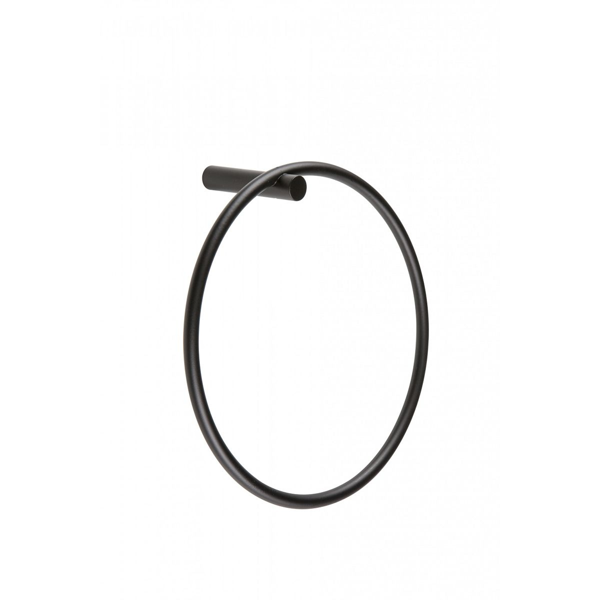 Bathrooms To Love Bertini Black Towel Ring