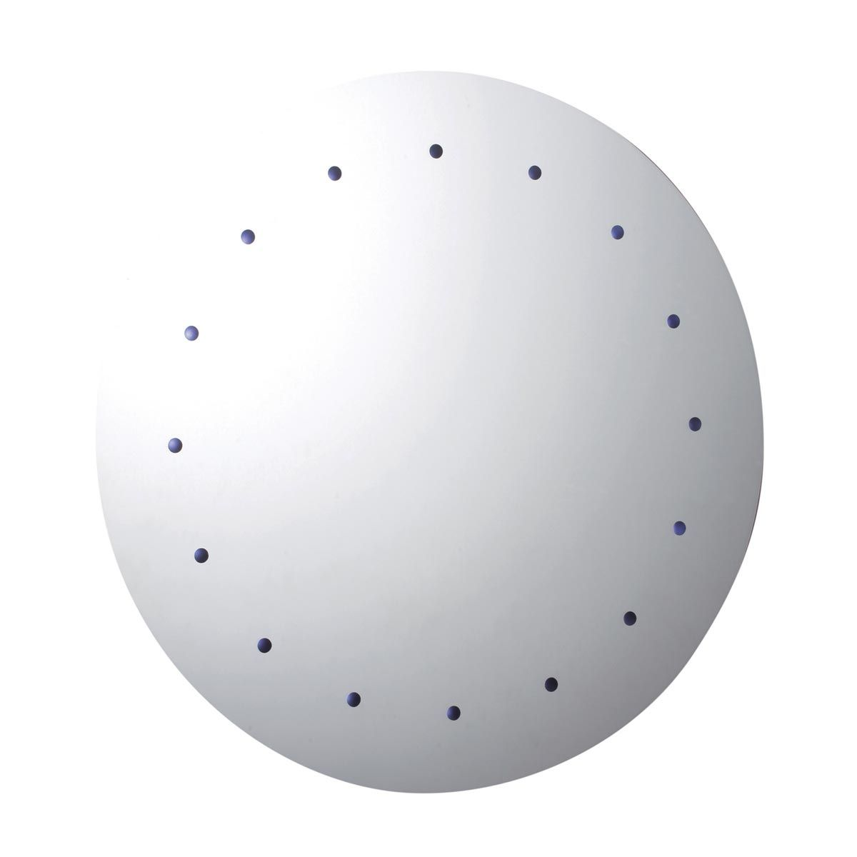 LED Battery Operated Round Bathroom Mirror 500mm