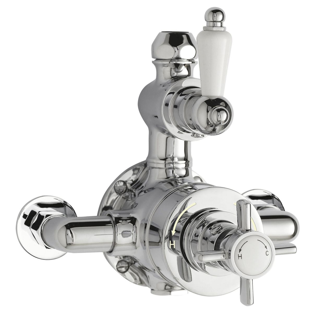 Premier Twin Exposed Thermostatic Shower Valve