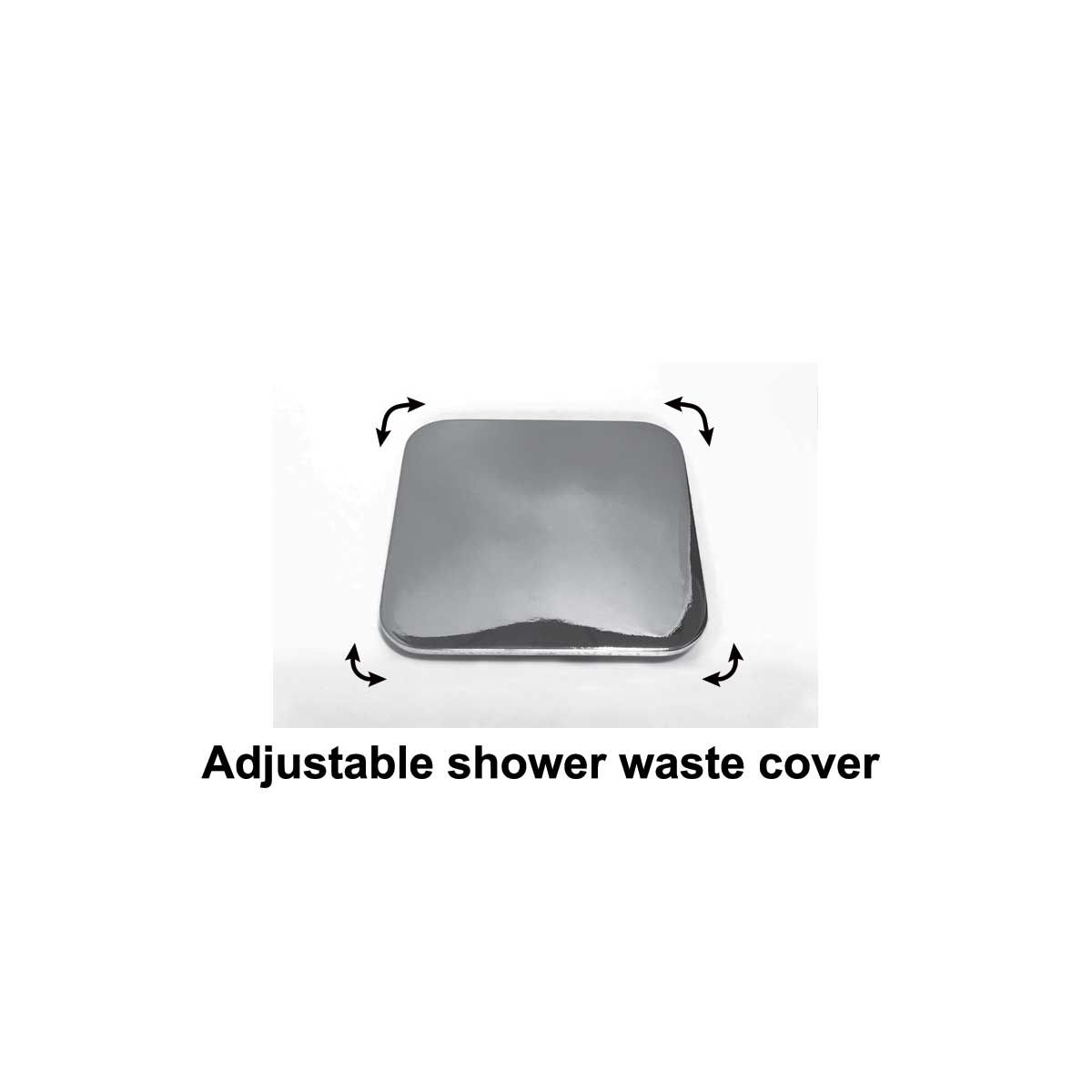 Adjustable Shower Tray Waste Cover