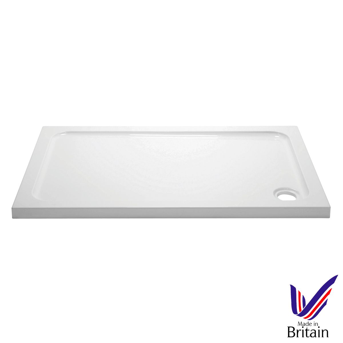 April Rectangular 900 x 800 Shower Tray
