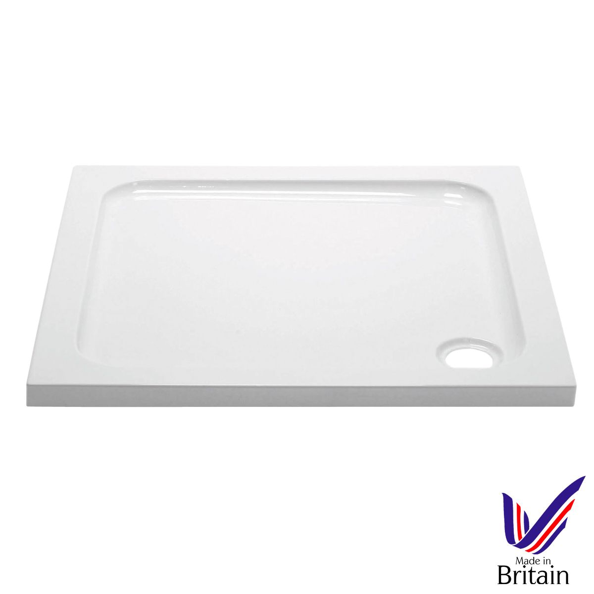 April Square 760 x 760 Shower Tray