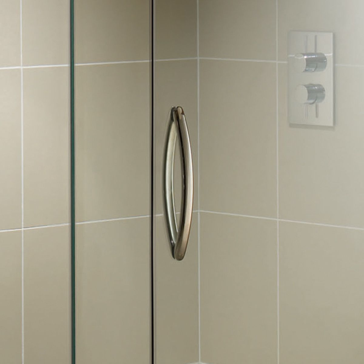 Aquadart Inline Hinged 2 Sided Door Shower Enclosure Detail 1
