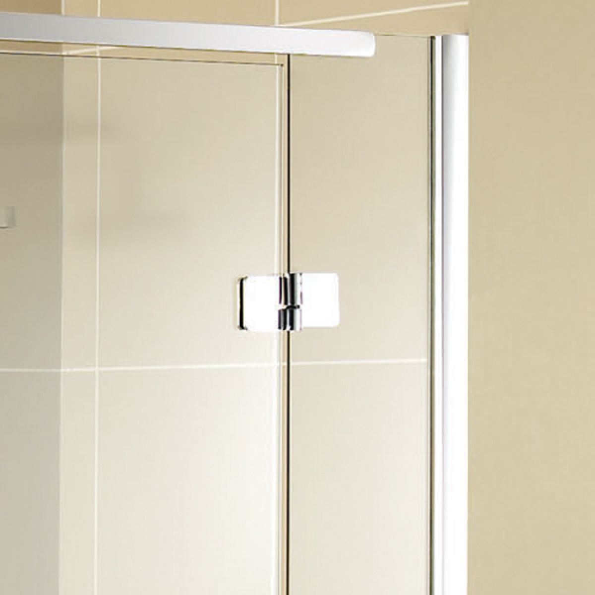 Aquadart Inline Hinged Recess Shower Door Detail 2