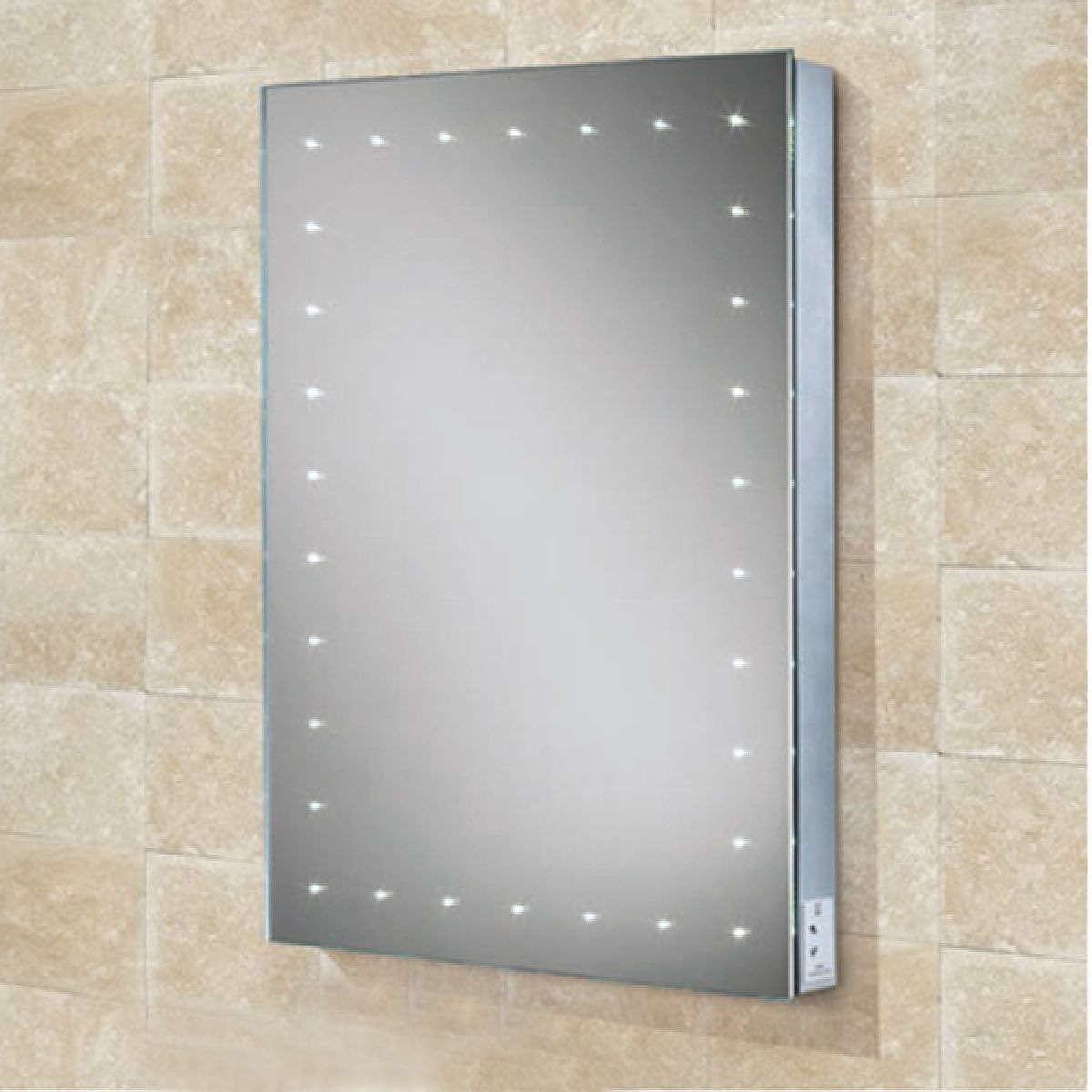 HiB Astral Illuminated Bathroom Mirror