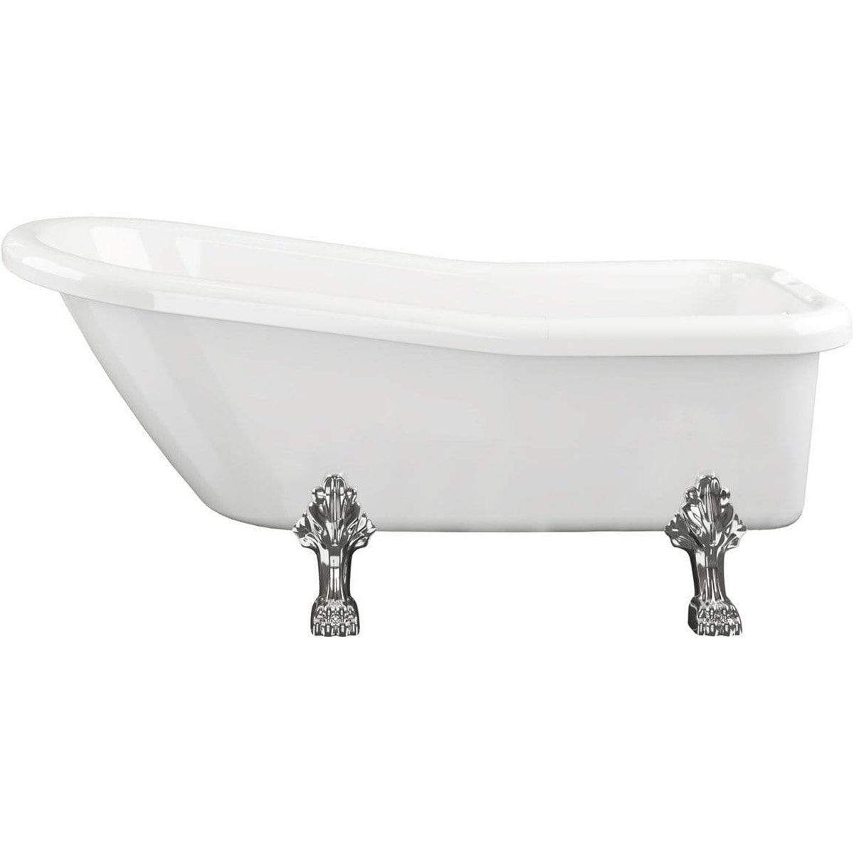Bathrooms To Love Bayswater Freestanding Bath with Feet 1710mm x 710mm 1