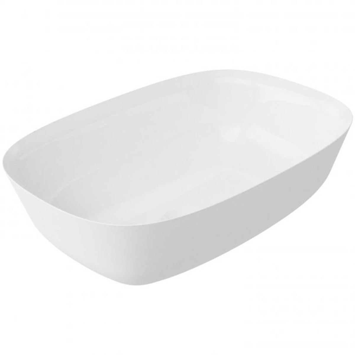 Bathrooms To Love Layla White Polymarble Washbowl 460 x 320mm