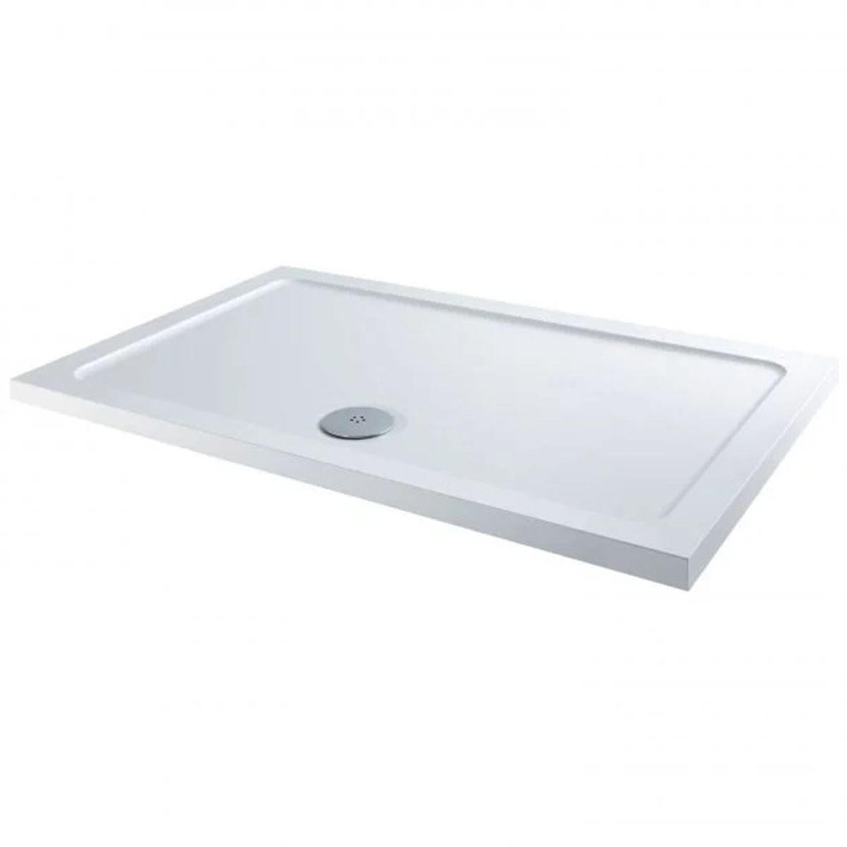 Bathrooms To Love Reflex Rectangular Low Profile Shower Tray with Waste 900mm x 800mm