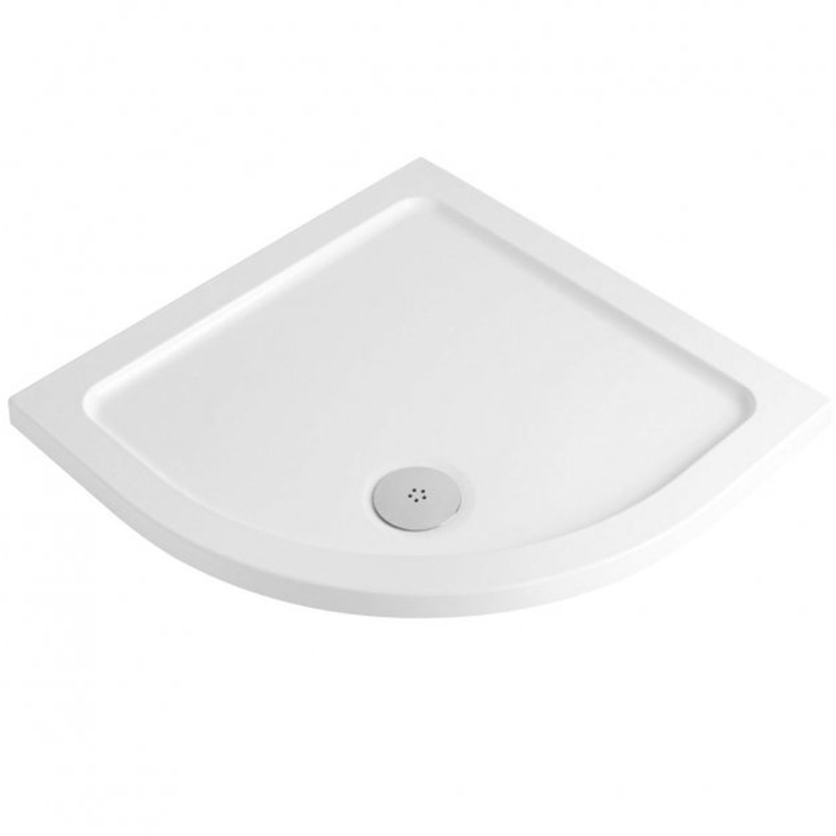 Bathrooms To Love Reflex Quadrant Low Profile Shower Tray with Waste 900mm x 900mm
