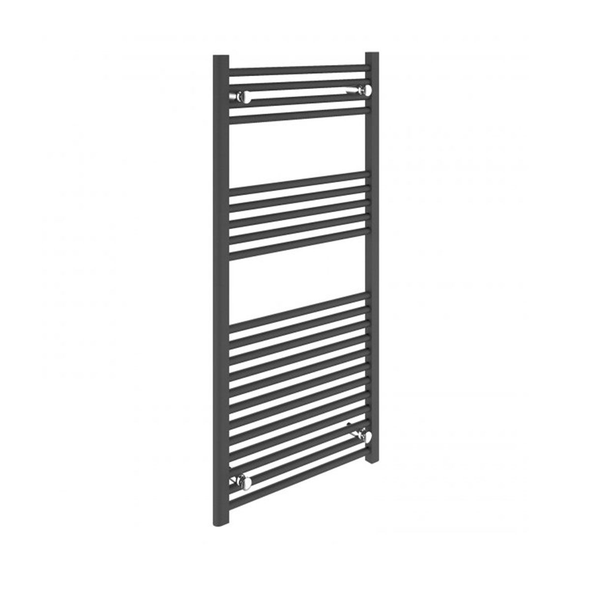 Bathrooms to Love Straight Anthracite Towel Warmer 500 x 1200mm