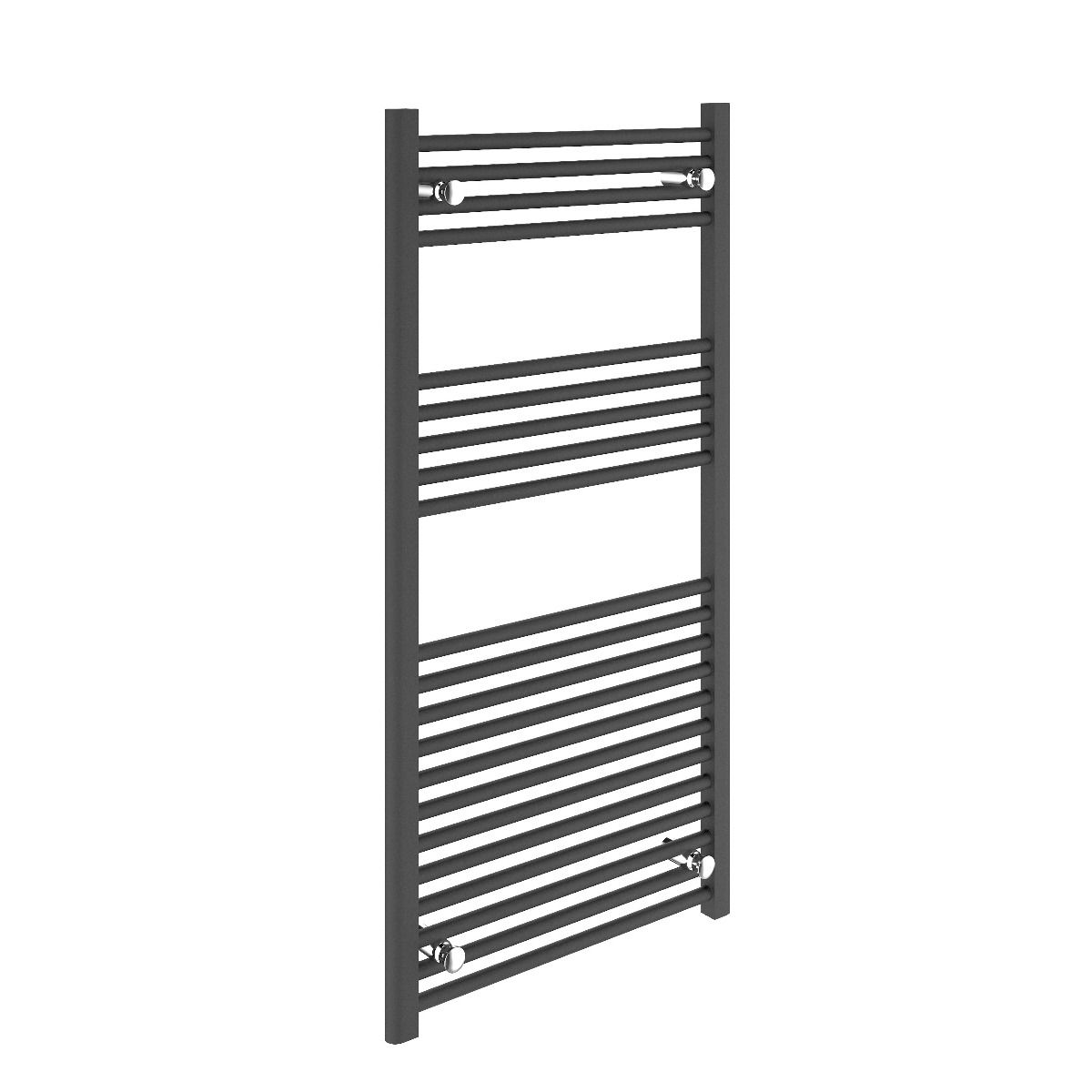 Bathrooms to Love Straight Anthracite Towel Warmer 600 x 1200mm